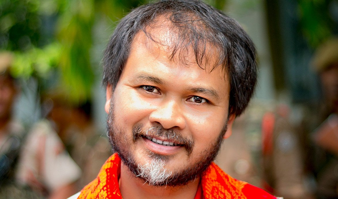 NIA court clears Akhil Gogoi of charges under UAPA in one case