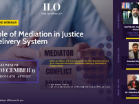 Webinar on Role of Mediation in Justice Delivery System