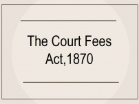 Case Laws: Status of court fee in cases where sale deed has been executed through power of attorney and case has been filed to declare that sale deed null & void by the person who issued that special power of attorney